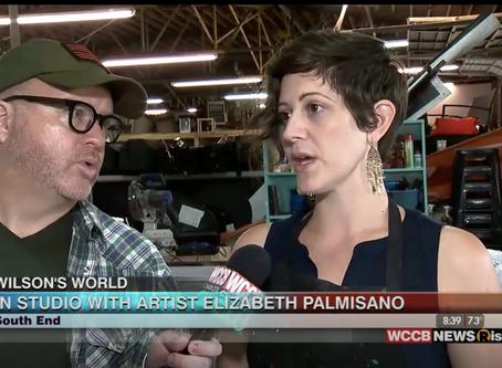 Wilson's World: Visiting the Studio of Artist Elizabeth Palmisano