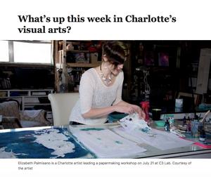Elizabeth Palmisano CLT Happenings column, Charlotte observer