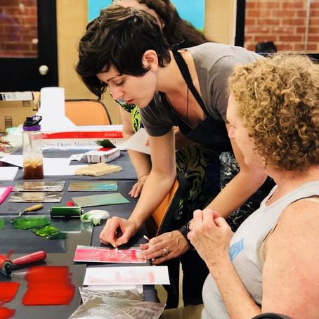 Botanical Printmaking Workshop