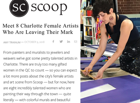 Scoop Charlotte: 8 Charlotte Female Artists Who Are Leaving Their Mark