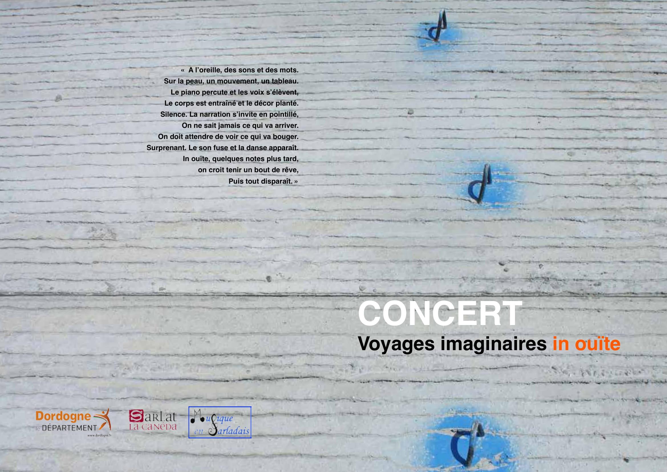 Plaquette Voyages Imaginaires