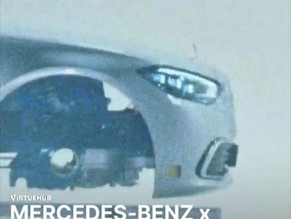 Mercedes Benz x Heron Preston Out now.