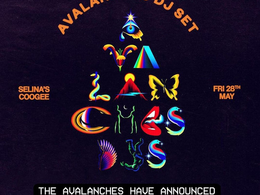@theavalanches have announced a DJ Party with @aditoohey @cut_copy @jono.ma @lex.deluxe on 28th May.
