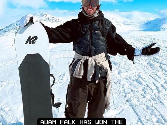 @adam888falk has WON the 'Scandinavian Big Mountain Championship'