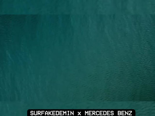SurfAkademin x @mercedesbenz campaign is Out Now! 🌊