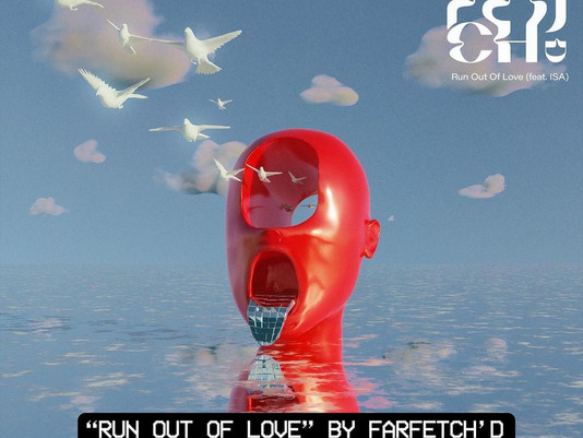 """""""Run Out Of Love"""" by @farfetchdmusic feat. @isaofficialmusic is Out Now! 🌊"""