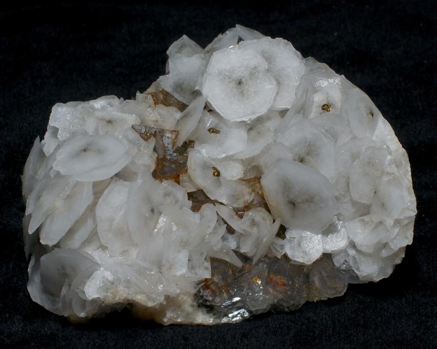 Calcite, Fluorite, Pyrite