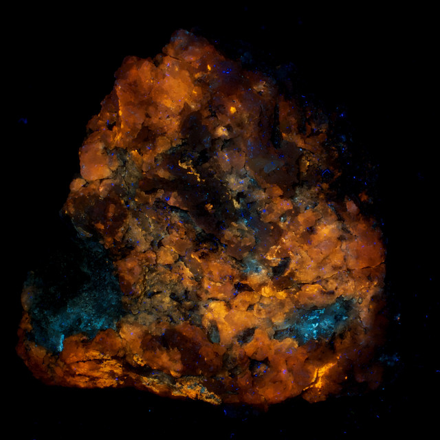 Calcite and Hyalite