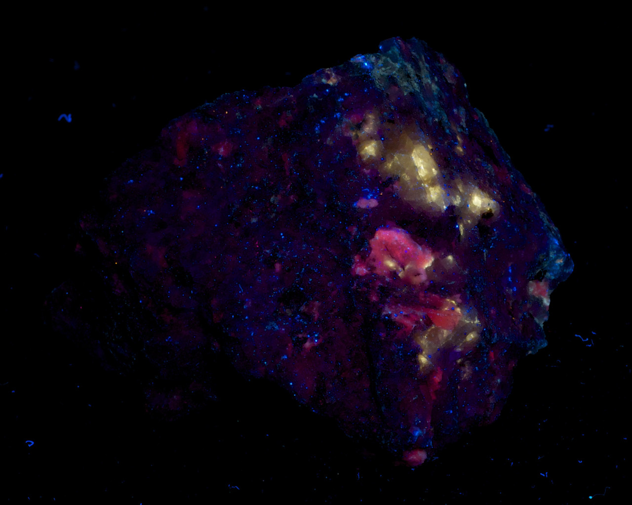 Calcite and Scheelite
