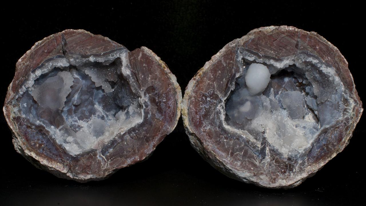 Trancas Geode, Chalcedony