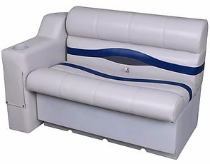 "62"" Bow Seat Group for Pontoon"