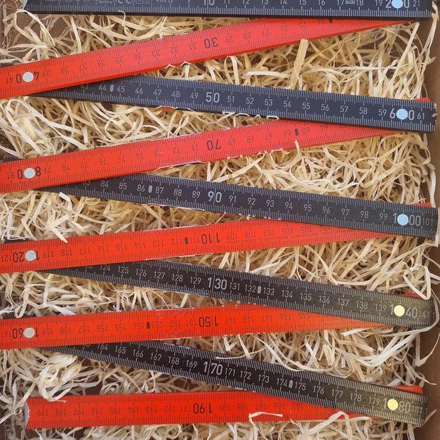 Double-mètre bois de hêtre - branches de
