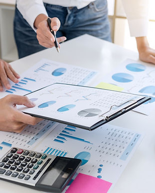 Business accountant or banker, business