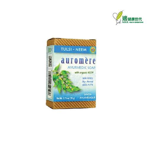 印度傳統肥皂 (聖羅勒楝樹) Ayurvedic Soap (Tulsi Neem)