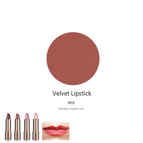 天然輕盈鮮明唇膏 (啡紅色) Velvet Lipstick (Color:Iris)