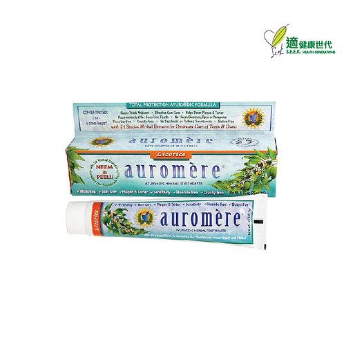 印度傳統草本牙膏 (甘草) Herbal Toothpaste (Licorice)