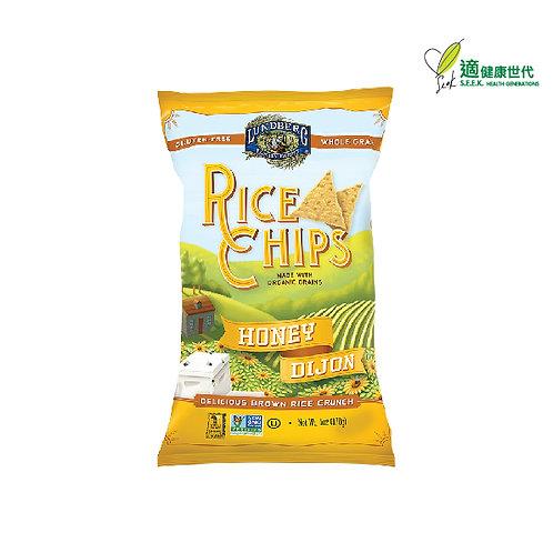 天然糙米脆片 (蜂蜜芥茉味) Rice Chips (Honey Dijon)