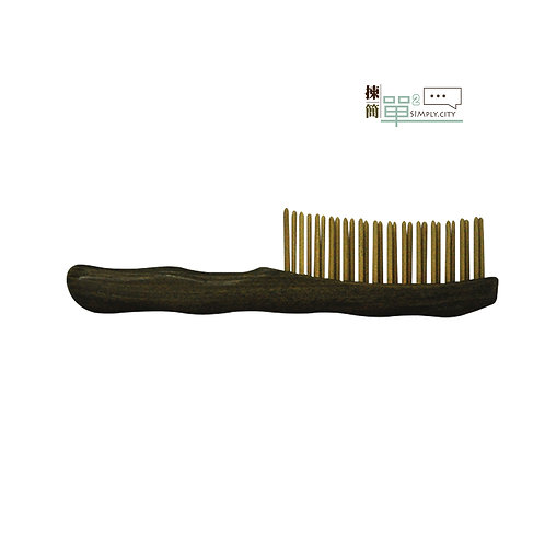 ECO生態綠檀木竹子按摩梳 ECO Vera wood Bamboo Massage Comb