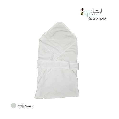有機棉初生BB三角包巾 Organic Cotton Baby Wrap Blanket