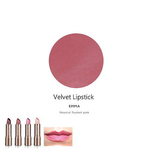 天然輕盈鮮明唇膏 (粉紅色) Velvet Lipstick (Color:Emma)