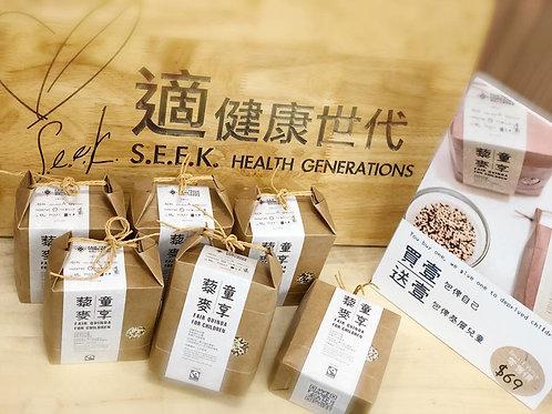 有機公平貿易認證嘅《童享藜麥》Fair Quinoa For Children