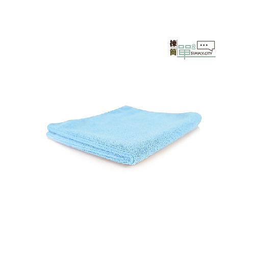 85%竹纖維洗面方巾 (藍色) 85% Bamboo Fibre Face Towel (Square-Blue)
