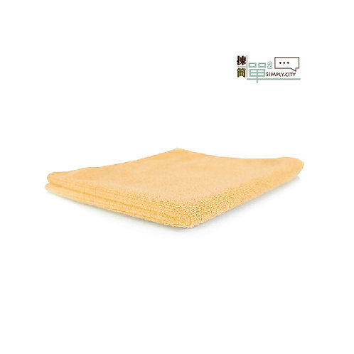 85%竹纖維洗面長方巾 (黃色) 85% Bamboo Fibre Face Towel (Long-Yellow)