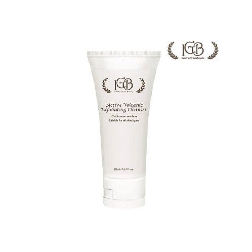 I.G.B.活火山泥角質更新潔面霜 Active Volcanic Exfoliating Cleanser