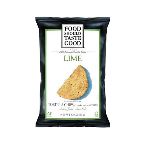天然青檸脆片 All Natural Tortilla Chips (Lime)