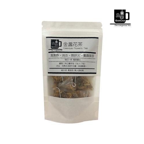 金盞花茶 Calendula Flowers Tea