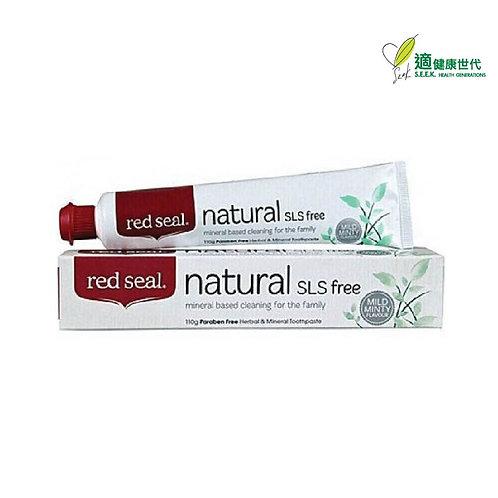 草本礦物牙膏 (天然-不含氟化物) Paraben Free Herbal & Mineral Toothpaste (Natural-SLS Free)