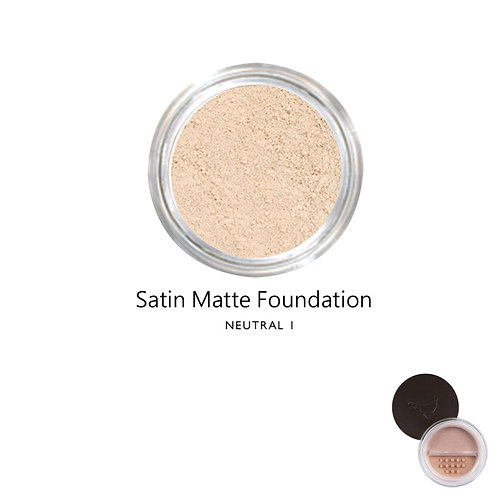 絲緞啞光粉底 (自然色系1) Satin Matte Foundation (Color:Neutral 1)