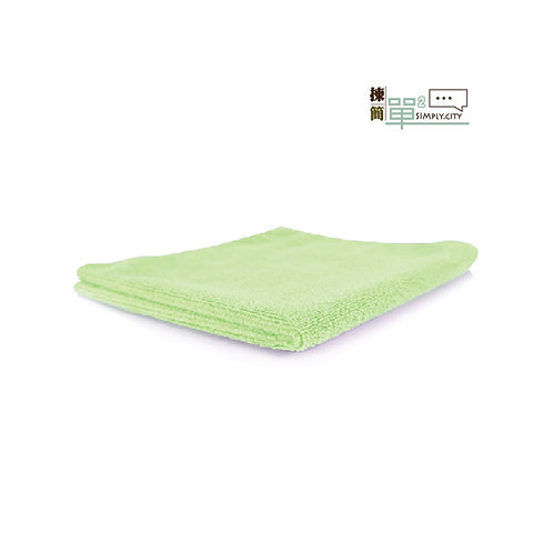 85%竹纖維洗面長方巾 (粉綠色) 85% Bamboo Fibre Face Towel (Long-Green)