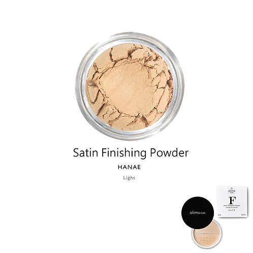 絲緞定妝蜜粉 (花枝) Satin Finishing Powder (Color:Hanae)