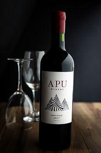 Apu Peruvian Wine-Sangiovese. High altitude wine, craft wine, winery peru