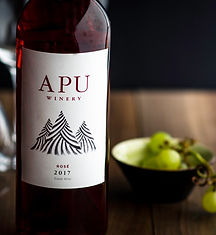 Apu Peruvian Wine-Rosé. High altitude wine, craft wine, winery peru