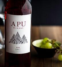 Apu Peruvian Wine-Rosé. High altitude wine, craft wine, winery peru