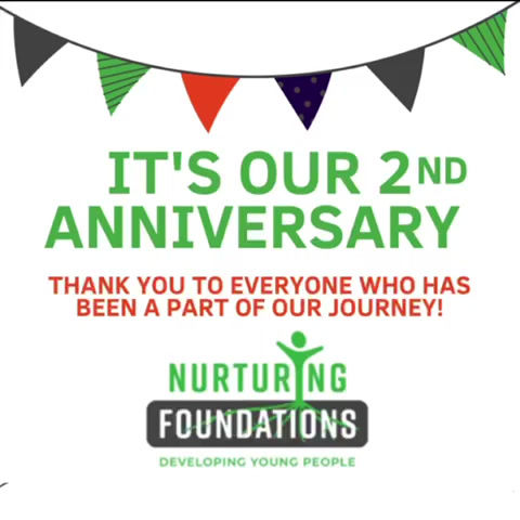 It's our second anniversary!! 🎂🎉