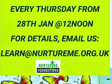 Nurture Me Playgroup Sessions