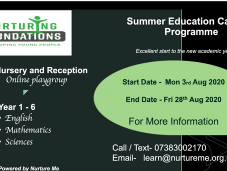 Summer Education Catchup Programme