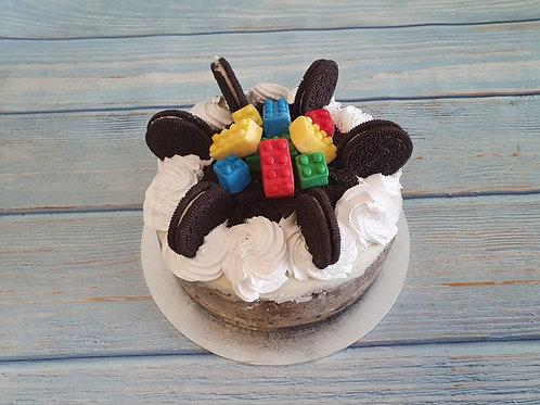 Oreo Cheese cake with white chocolate ganach
