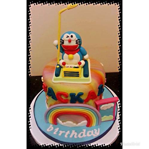 Doraemon Birthay Cake(Enquire for price)