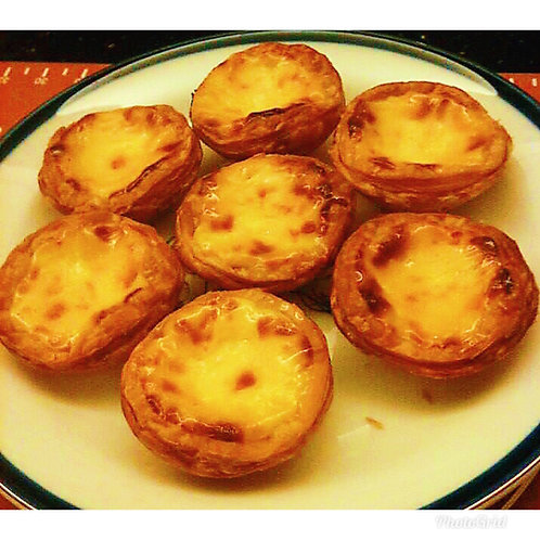 Portuguese egg tarts(6 pieces)