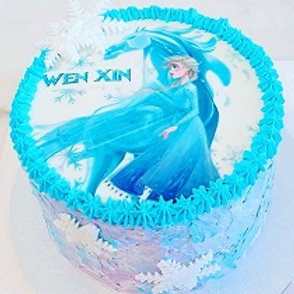 Edible Image Keto Cake