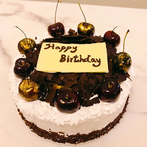 Black Forest Cake(Alcoholic version)