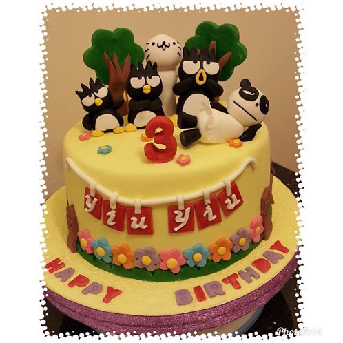 Badtz Maro themed birthday cake(Enquire for price)