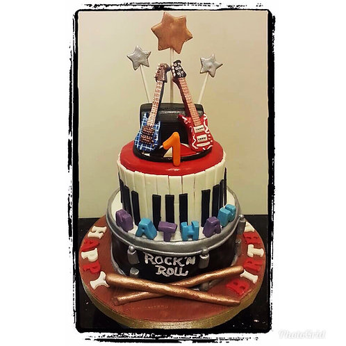 Rock n Roll Cake(Enquire for price)