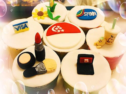 Branding Cupcakes(12 pieces)