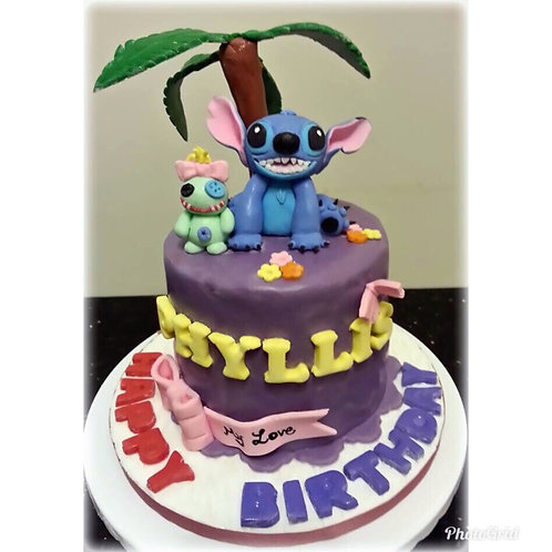 Lilo & Stitch Cake(Enquire for price)