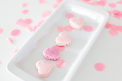 Heart Shape Macarons(12 pcs)